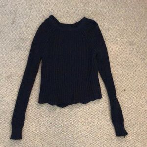 American Eagle navy sweater